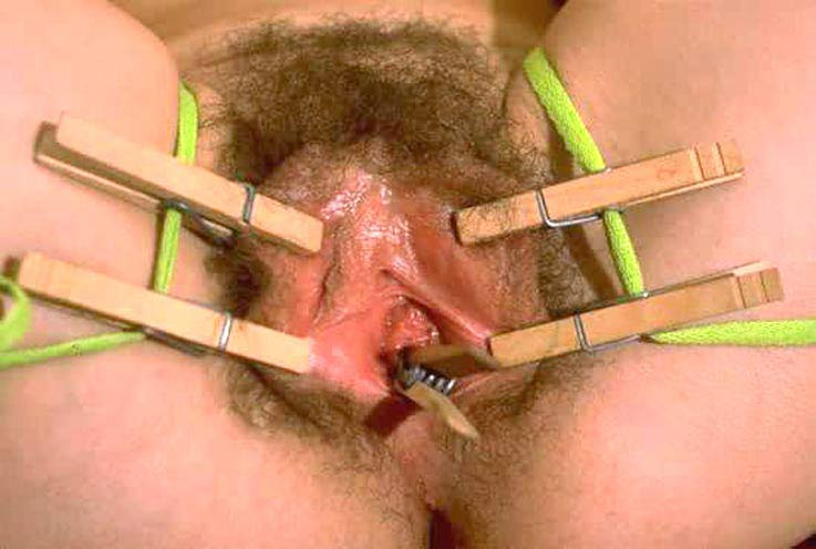 Clothes Pins On Pussy 120