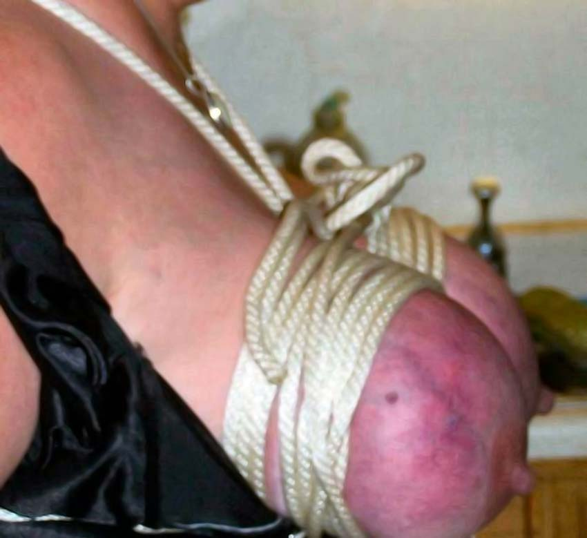 Breasts torture pics
